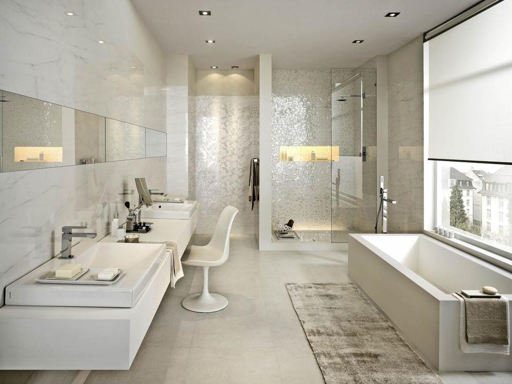 Красивые интерьеры ванной